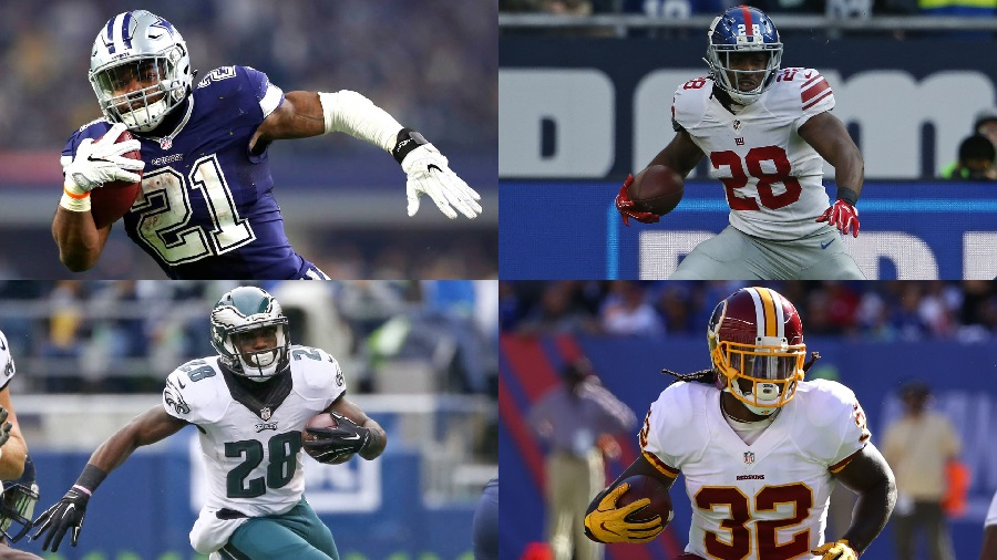 NFCE Positional Group Rankings – RB