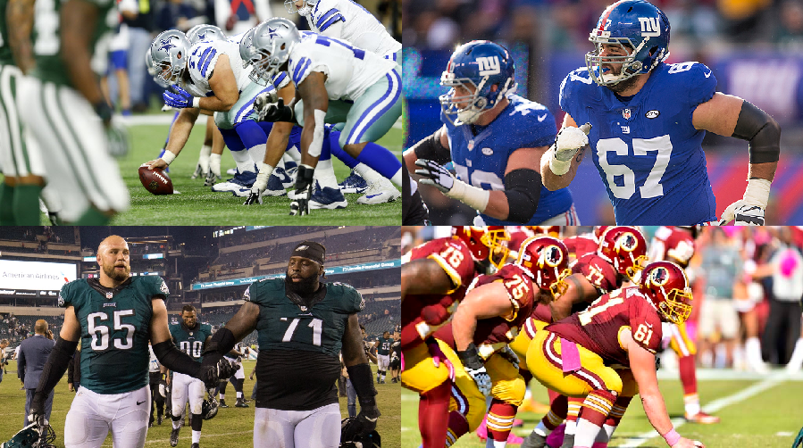 NFCE Position Ranking – Offensive Line