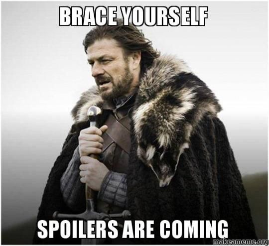 Game of Thrones SPOILER page