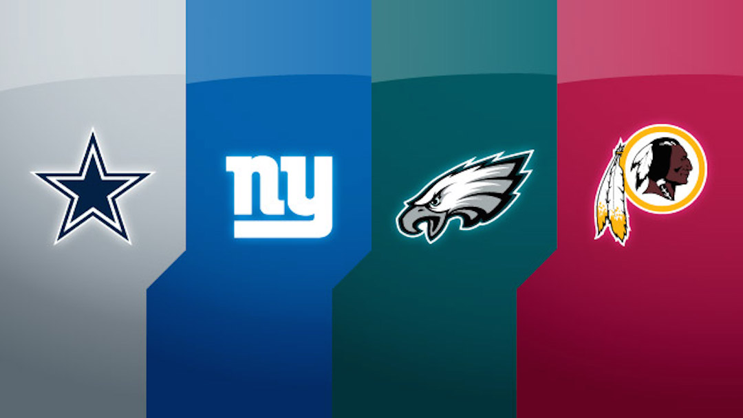 NFC East Midseason Rankings