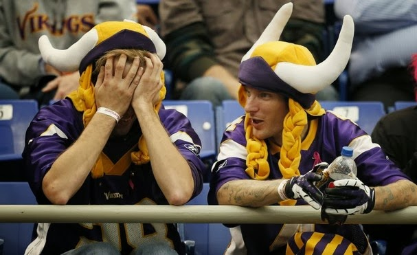 Vikings Will Choke As Usual