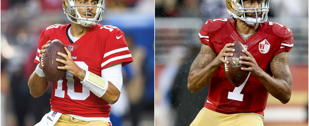 Stop Comparing Jimmy Garoppolo to Colin Kaepernick